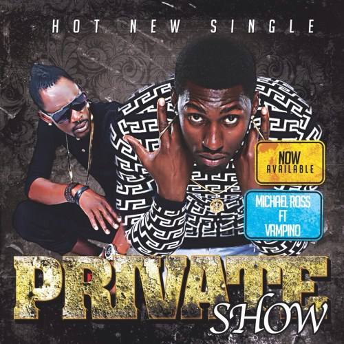 Poster du single ''Private Show'' feat Vampino