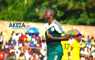 Le capitaine de l'équipe nationale des locaux Gael Duhayindavyi. Photo:©Akeza.net/Armand Nisabwe