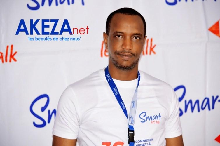 Camille Ndahiro , du département marketing chez Smart Burundi ©Akeza.net