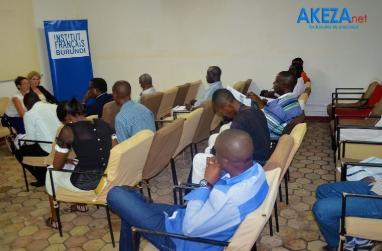 Les journalistes présents au café de presse ©Akeza.net