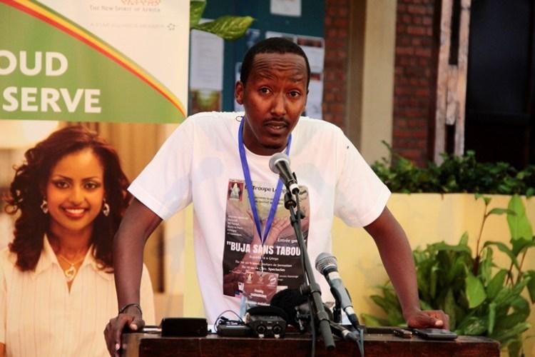 Freddy Sabimbona , directeur du festival BUJA SANS TABOU