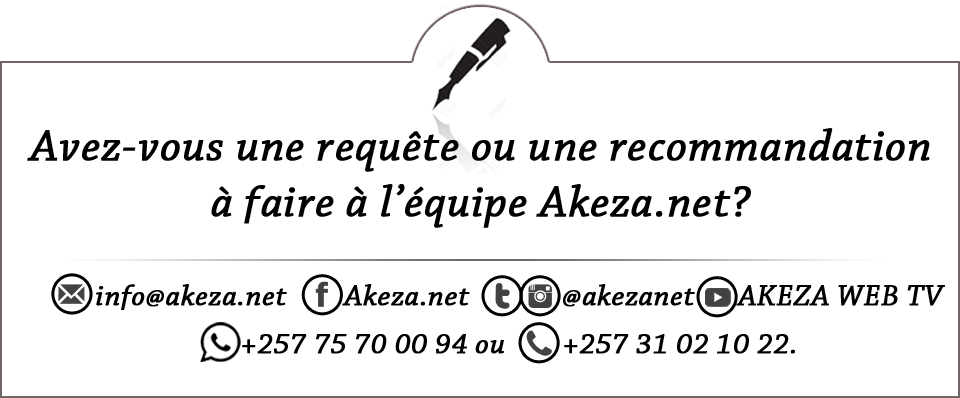 Comment contacter Akeza.net