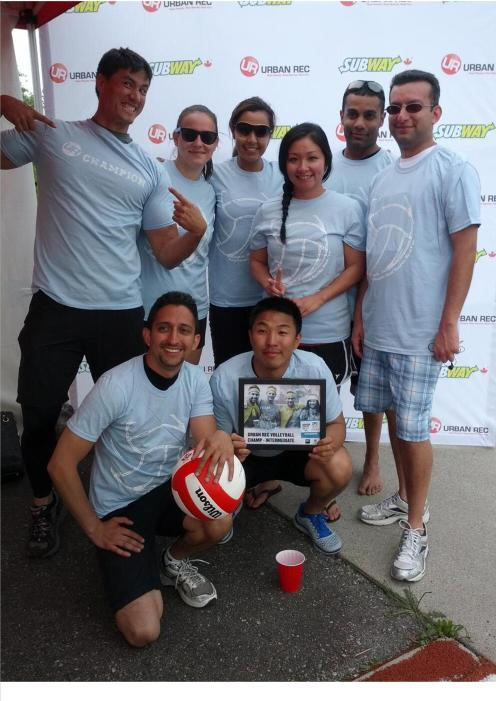 AK Fitness Vancouver Urban Rec Volleyball Champs