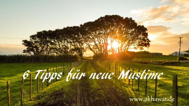 Tipps für neue Muslime
