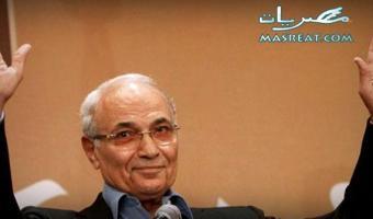 الفريق احمد شفيق رئيس حزب الحركة الوطنية