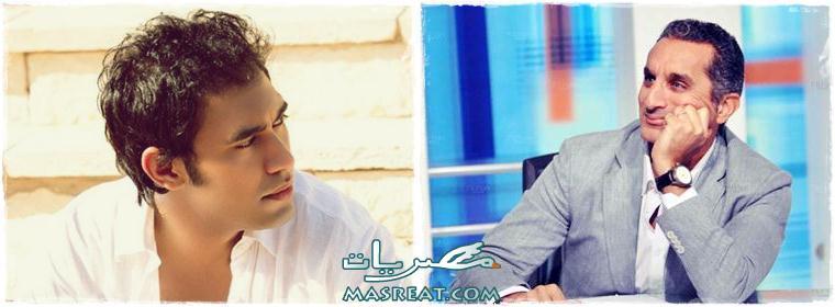 عمرو مصطفى يقدم برنامج ها نحط ع البرنامج ضد باسم يوسف