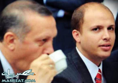 تسريب تسجيل مكالمة اردوغان مع ابنه بلال