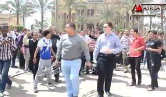 اخبار مظاهرات الاخوان في جامعة الازهر