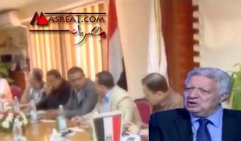 مرتضى منصور يشتم رئيس نادي الاهلي