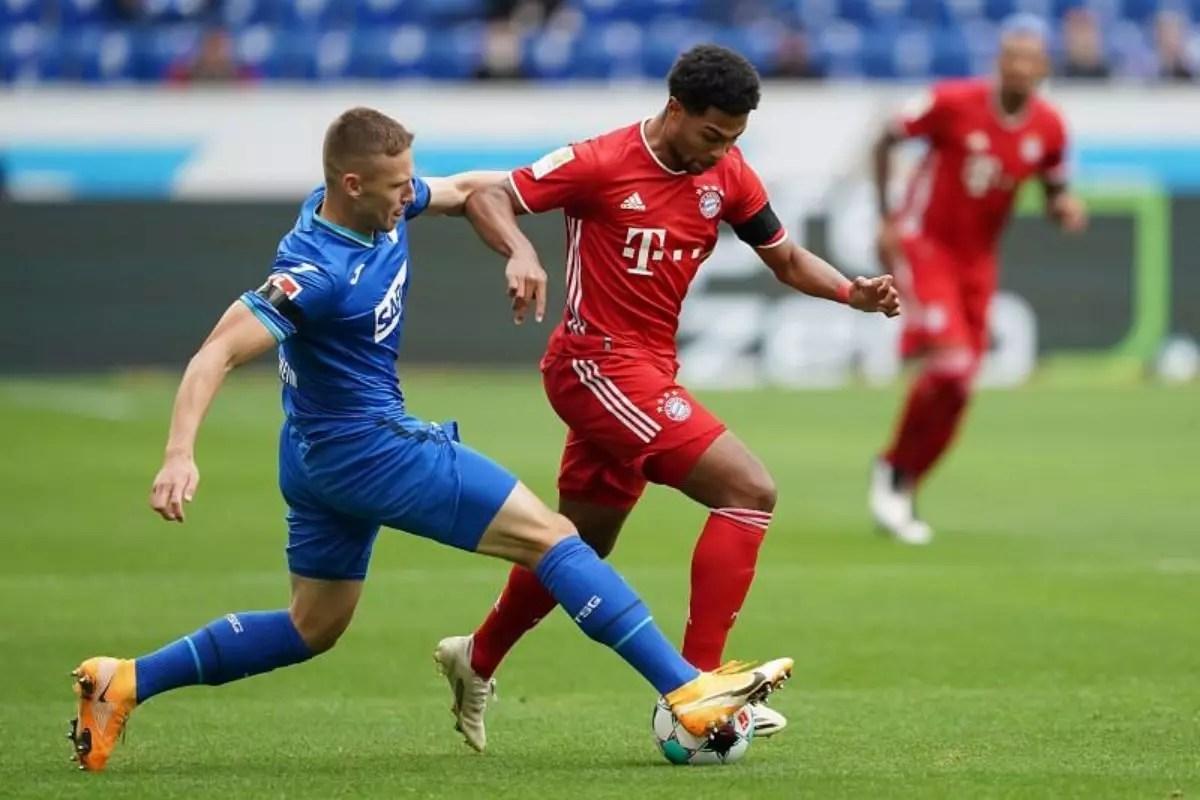 بايرن ميونخ ضد هوفنهايم في الدوري الألماني