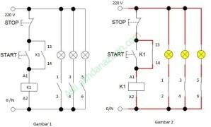 cara memasang kontaktor magnet / pemasangan Kontaktor