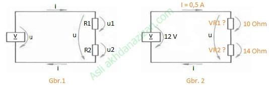 cara menghitung tegangan resistor