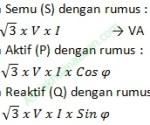 Rumus Daya Listrik 3 Phase