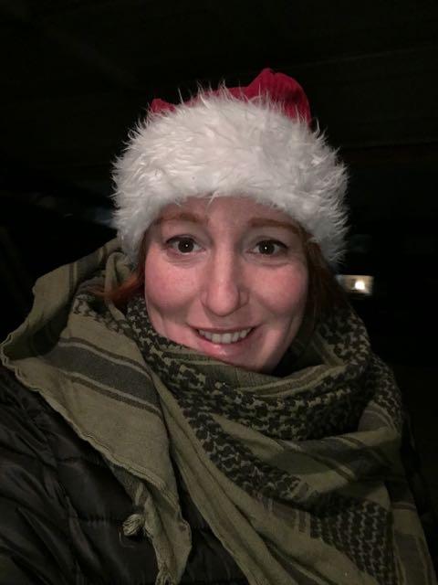 Christmas Caroling, Delivering Cards