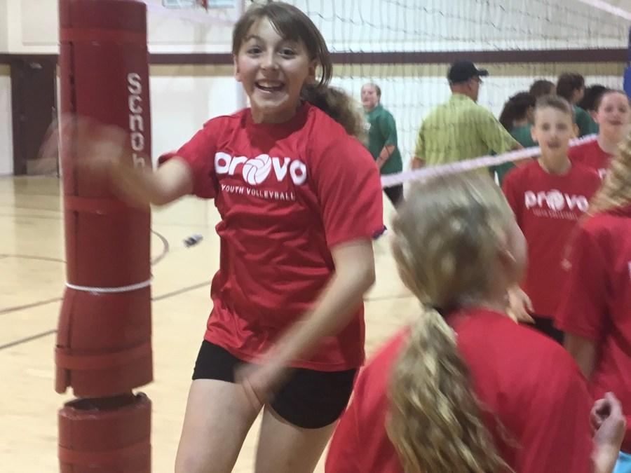 Karen's Volleyball Game