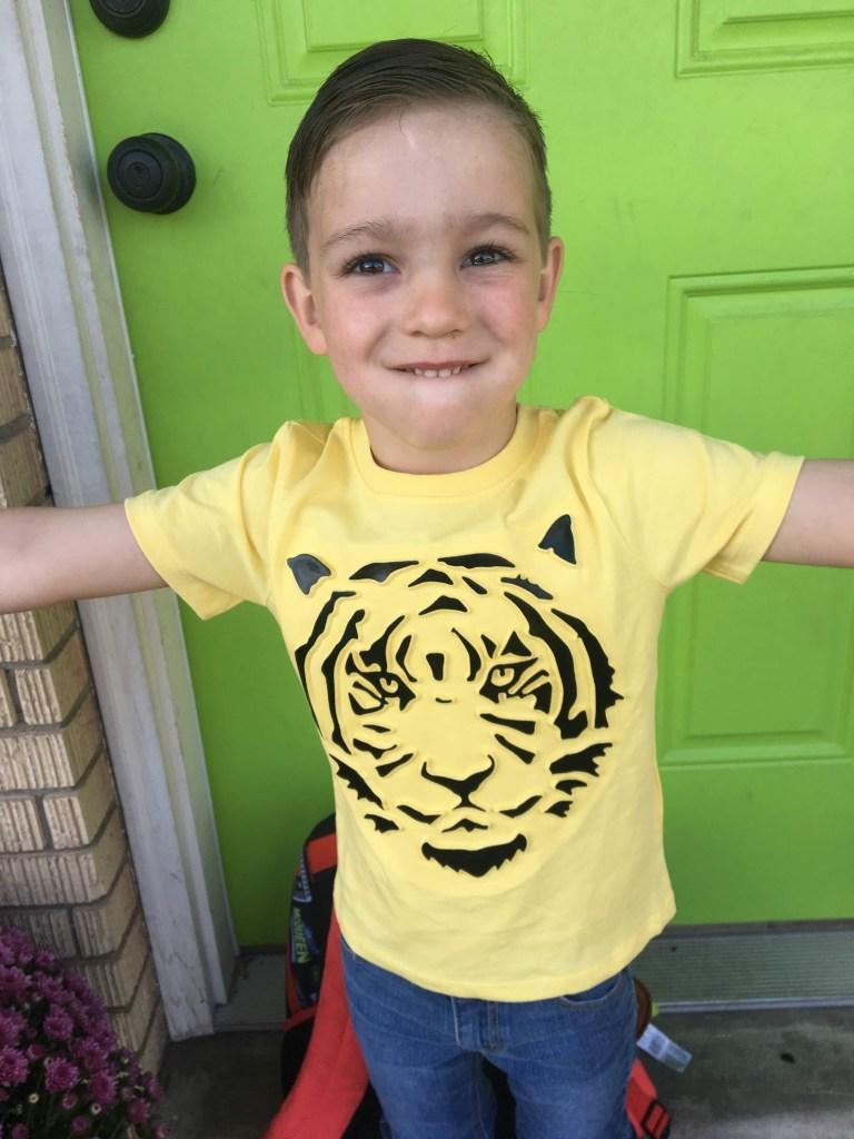 Luke's First Day of Preschool: 2019