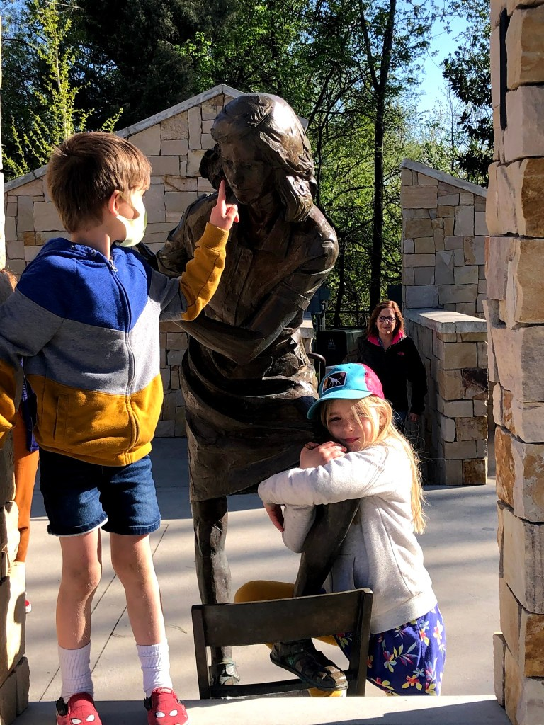 Boise Day 2: The Anne Frank Memorial, Crepe, Legos & Goodnight