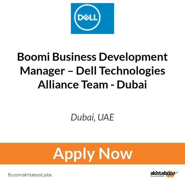 Boomi Business Development Manager – Dell Technologies Alliance Team ...