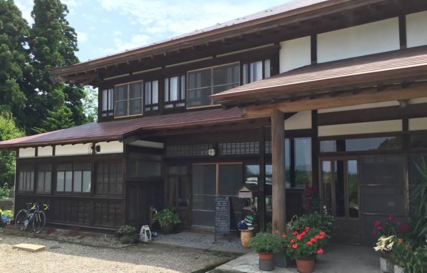 里山のカフェにぎぎ(男鹿市)