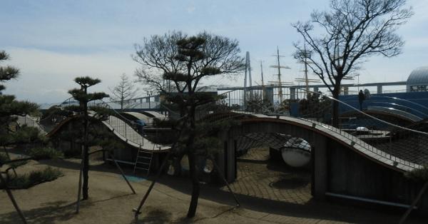 海王丸パーク遊具