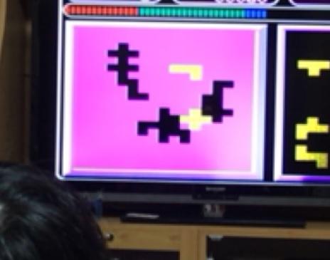 プレイコンピューターレトロのパズル