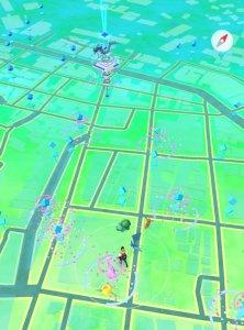 横須賀中央駅から見たポケモンGO世界