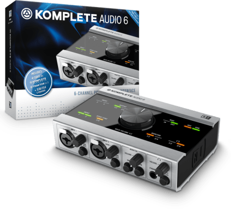 NI Komplete Audio 6 Box