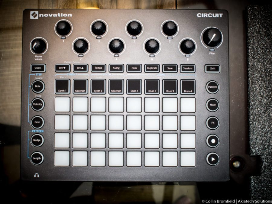 Novation Circuit Top Down