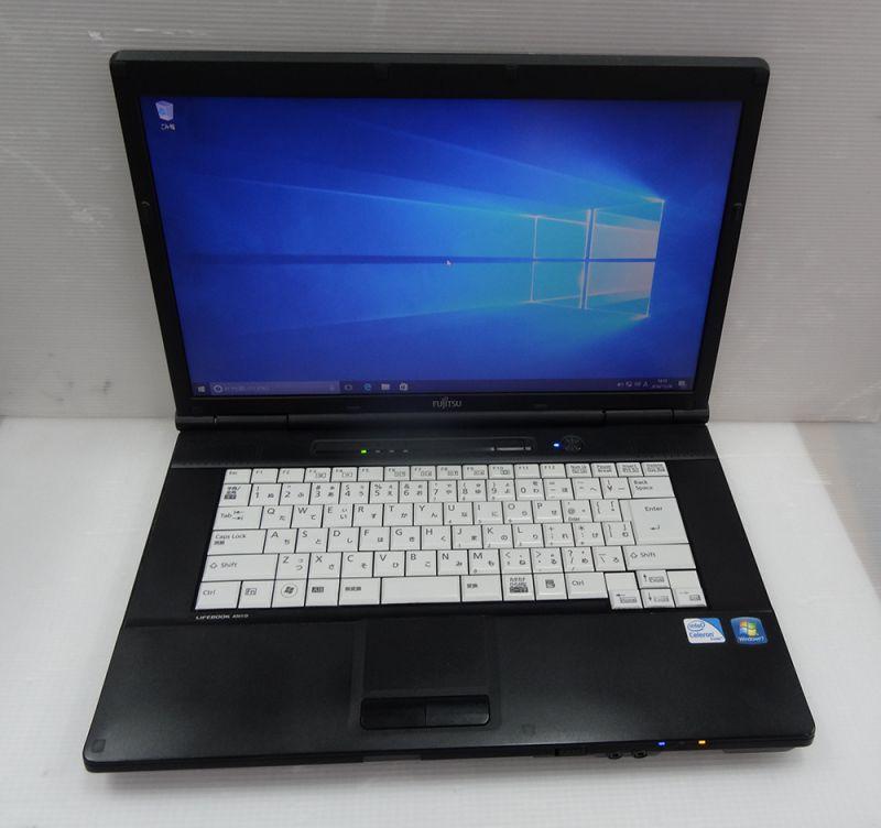 富士通 Lifebook A561/D (Celeron B710 1.6GHz/2GB/250GB/DVD/15.6インチ/Windows10 ...