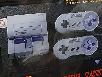 価格は3万円超え! 海外版ミニスーファミ「Super NES Classic Edition」が店頭入荷 海外版スーパーファミコンこと「Super NES」のClassic Edition