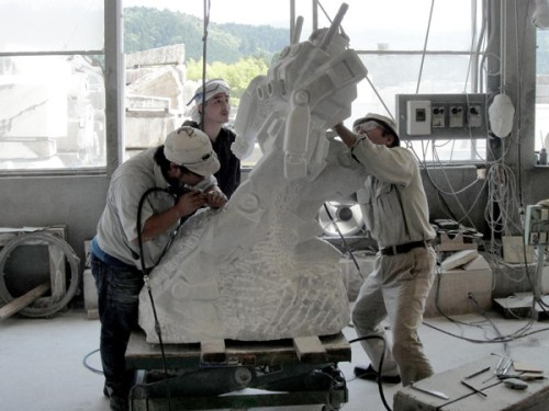 gundam-marble-statue-to-be-in-odaiba-3