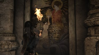 Tomb-Raider-Review-Screen-1-Lara-Croft-Sun-Queen