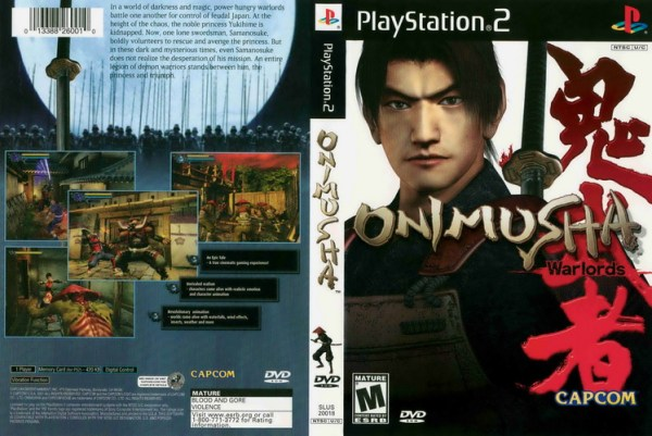 Onimusha - Warlords [NTSC-U] [SLUS-200180]