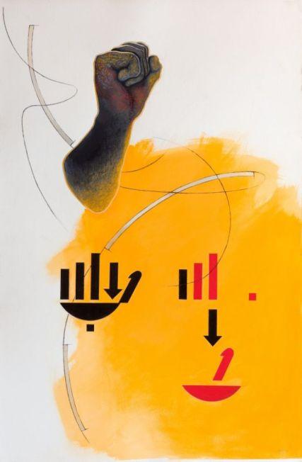 Susan Woolf Mandelas Sign