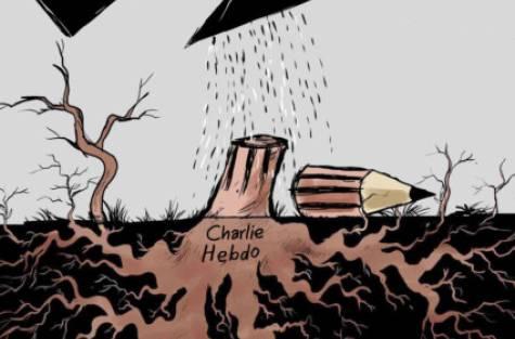 A Gulf News karikatúrája