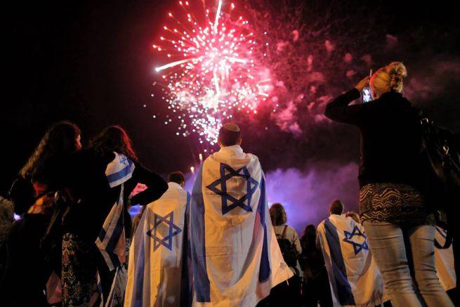 Tel Aviv a Függetlenség Napján