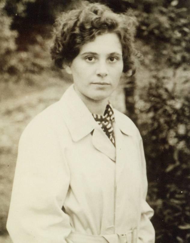 Ingeborg Rapoport fiatalon