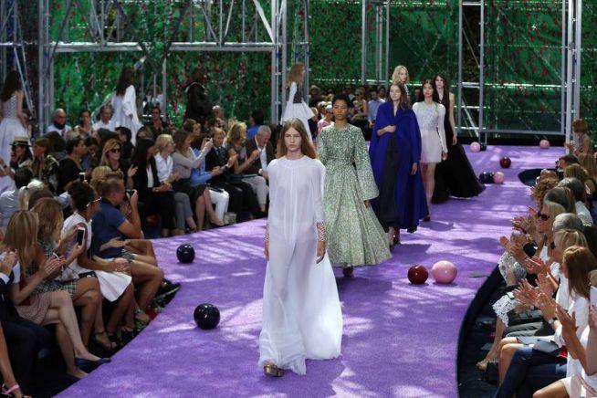 Sofia Mechetner a párizsi divathéten