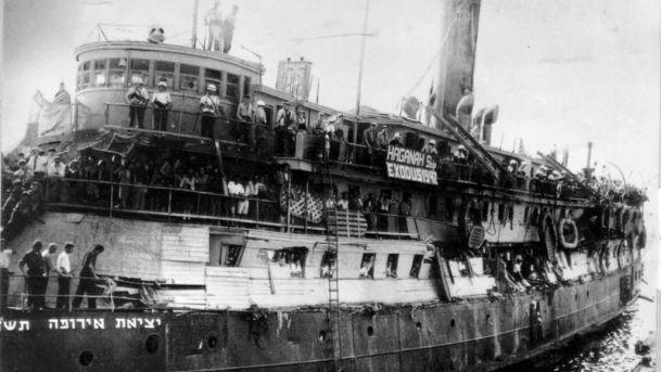 Az Exodus hajó 1947-ben