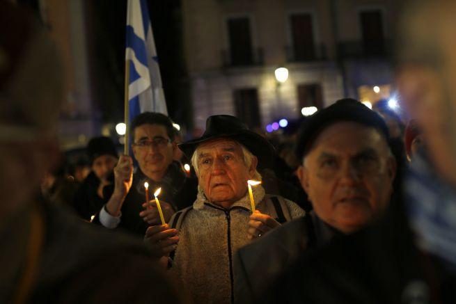 Hanukai ünnepség Madridban