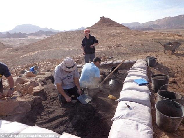 ásatás Izraelben