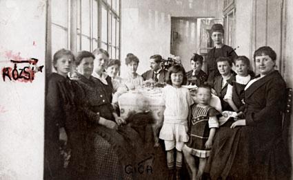 A Klein család 1920-as évek, Máramarossziget