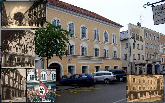 Hitler szülőháza Braunau am Inn-ben