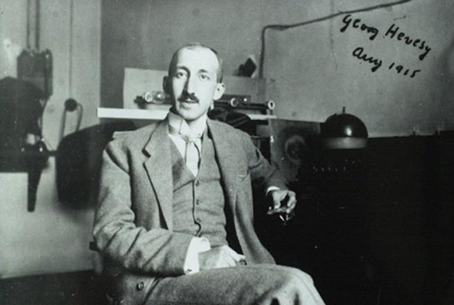 Hevesy György 1915-ben