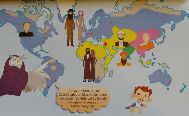 Vallásos emberek az új zsidó hittankönyvben
