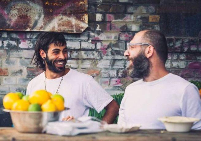 Oz Ben David (bal) és Jalit Dabit