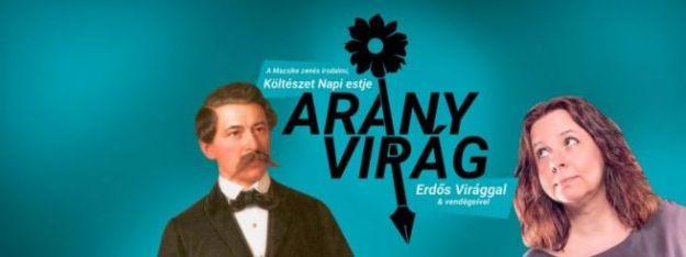AranyVirág – költészet napi est Erdős Virág költővel