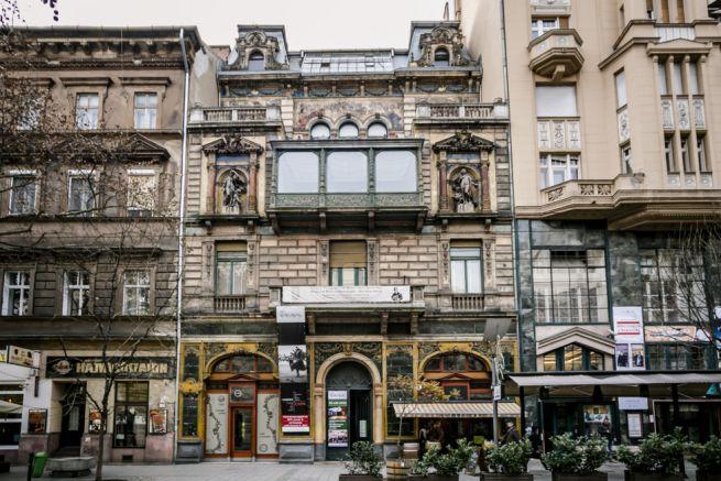 A Mai Manó Ház a Nagymező utcában (Fotó: Fotó: Hatyányi Norbert/We Love Budapest)