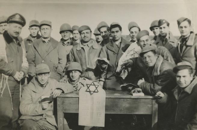Amerikai zsidó katonák 1944-ben