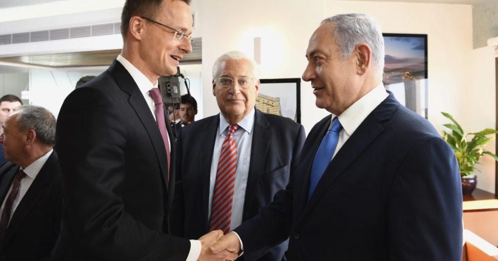 Szolidaritását fejezte ki a magyar külügyminiszter Izraellel